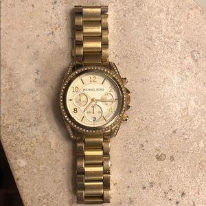 Women's Michael Kor's Gold Watch